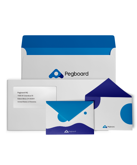 Business checks and envelopes, including double-window check envelopes for your business.
